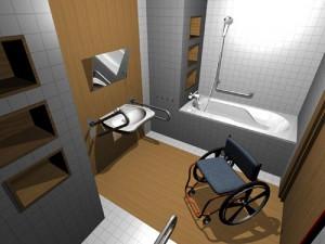 3d модель квартиры для людей с ограниченными возможностями